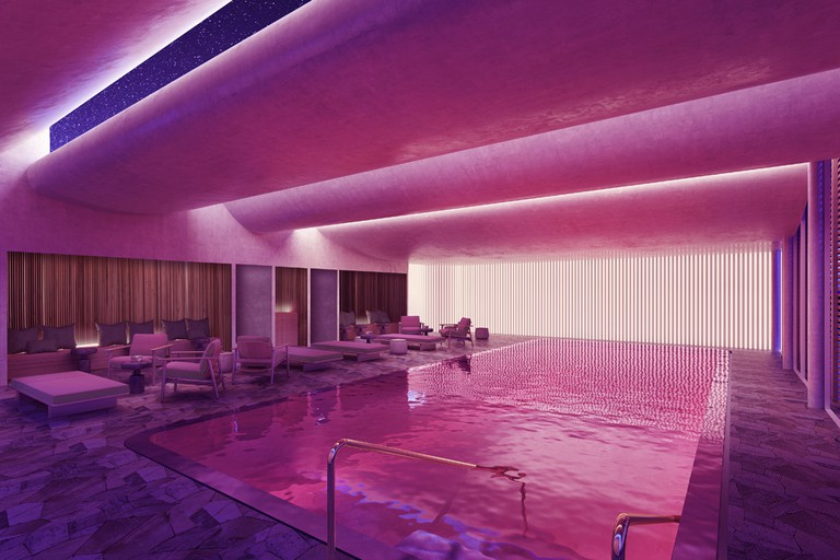 Pullman Paris Centre Bercy wellness lounge