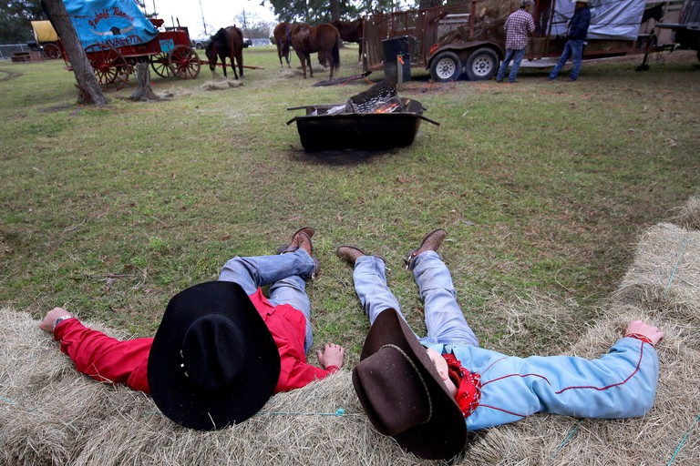 Houston Trail Ride Photo Gallery, Tomball, USA