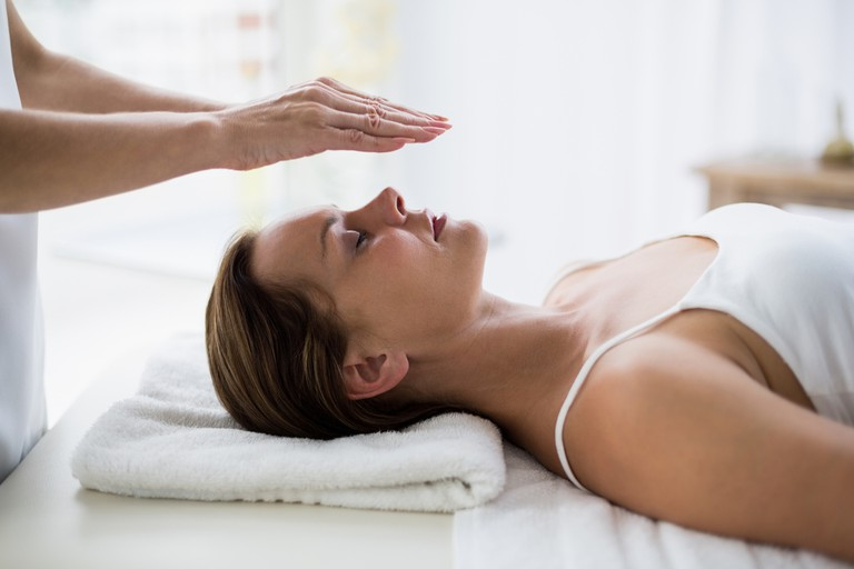Mailuna therapists perform reiki, among other treatments