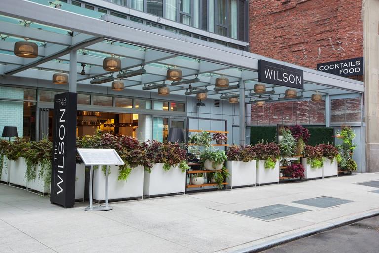 The Wilson, New York, USA.