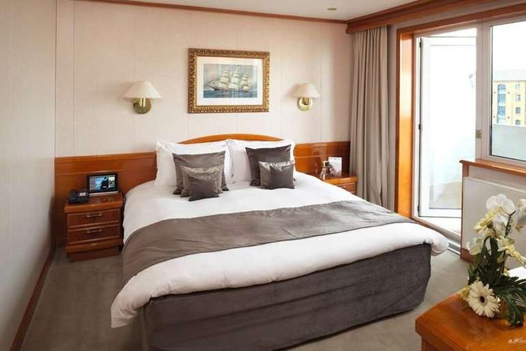 Junior suite at Sunborn London