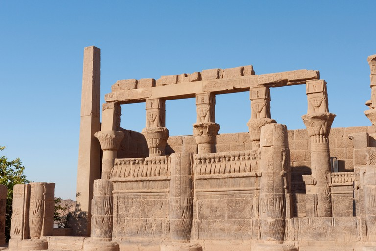 The Philae temple complex was relocated to Agilkia Island to save it from flooding