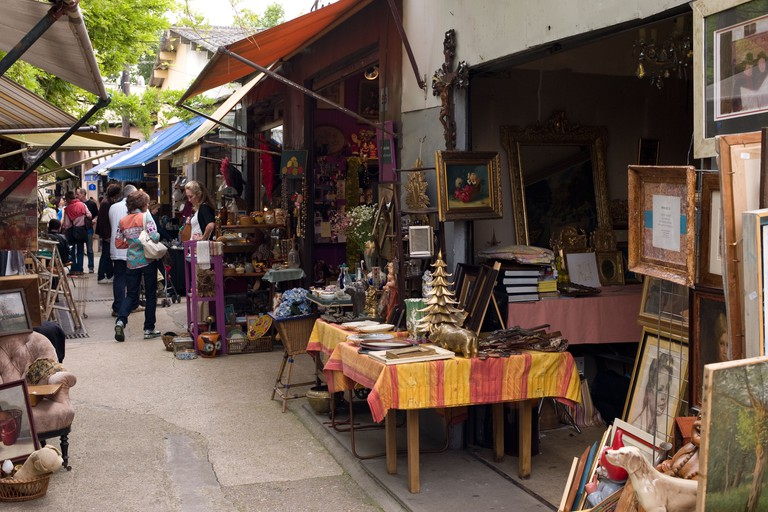 Les Puces de Saint-Ouen is one of the oldest flea markets in the world