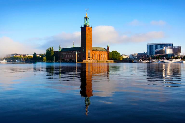 The City Hall, Stockholm, Sweden.