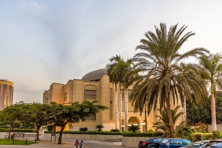 Cairo Opera House in the evening - Egypt