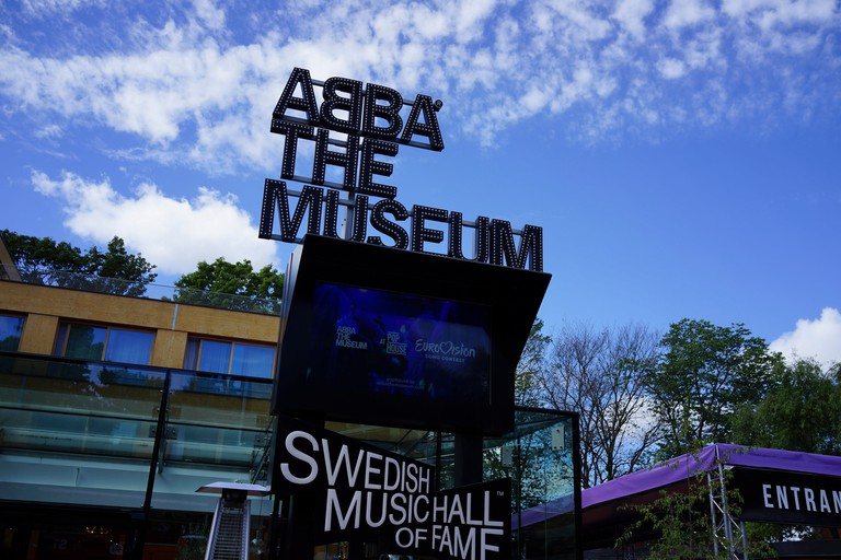 Abba Museum, Stockholm, Sweden.