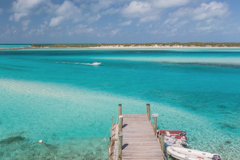 Cays Land and Sea Park, Exuma Island, Bahamas.