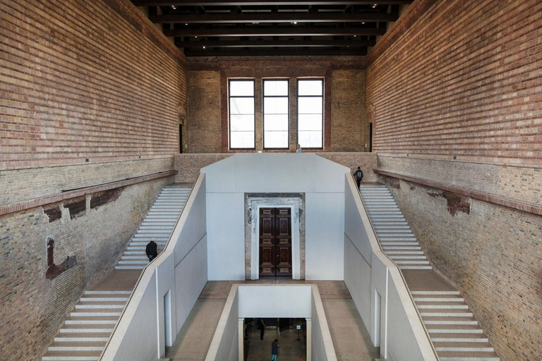 Interior of the Neues Museum, Museum Island, Berlin