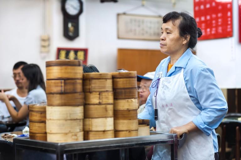 Lin Heung Tea House serves traditional dim sum