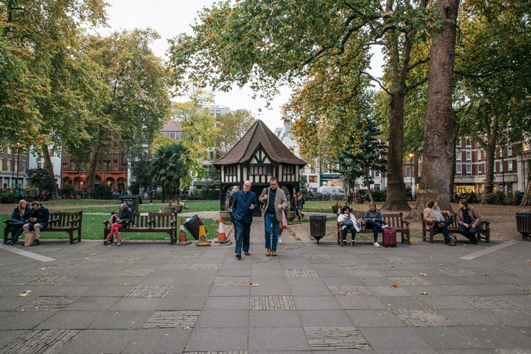 Soho Square is home to several media companies