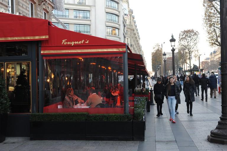 Fouquet's restaurant, Paris