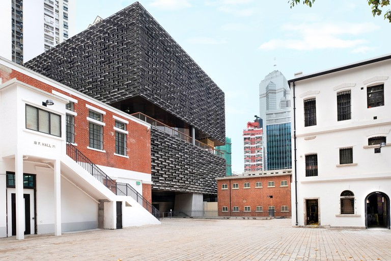 The Tai Kwun Centre for Heritage and Arts is a peaceful enclave for creative inspiration