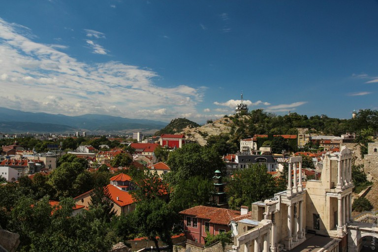 A view over Plovdiv