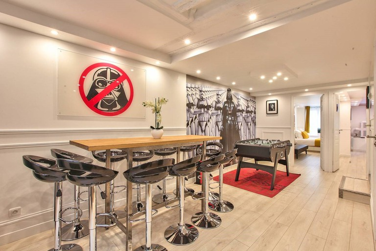 'Star Wars'-themed flat