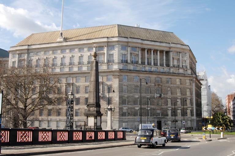 Mi5 Headquarters building. Thames House, London, UK. Image shot 2007. Exact date unknown.