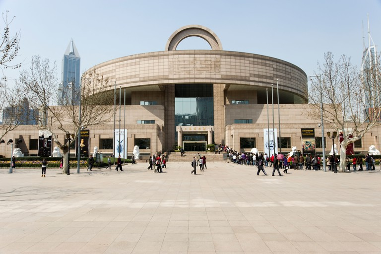 Discover ancient bronze metalwork, ceramics and Chinese sculpture at Shanghai Museum