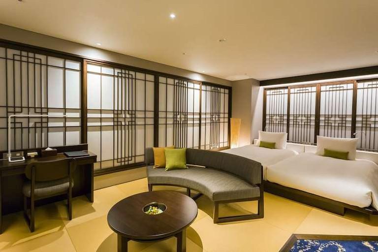 Hotel Ryumeikan Tokyo is close to the city's main station
