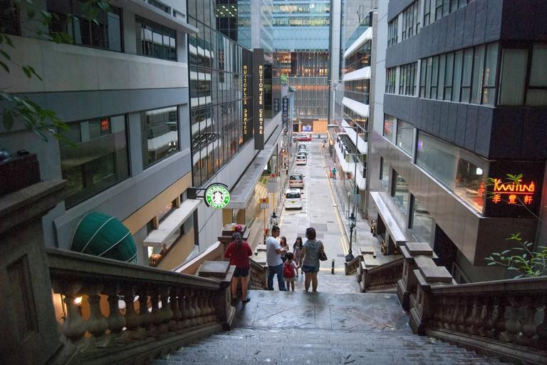 Duddell Street Steps, Hong Kong