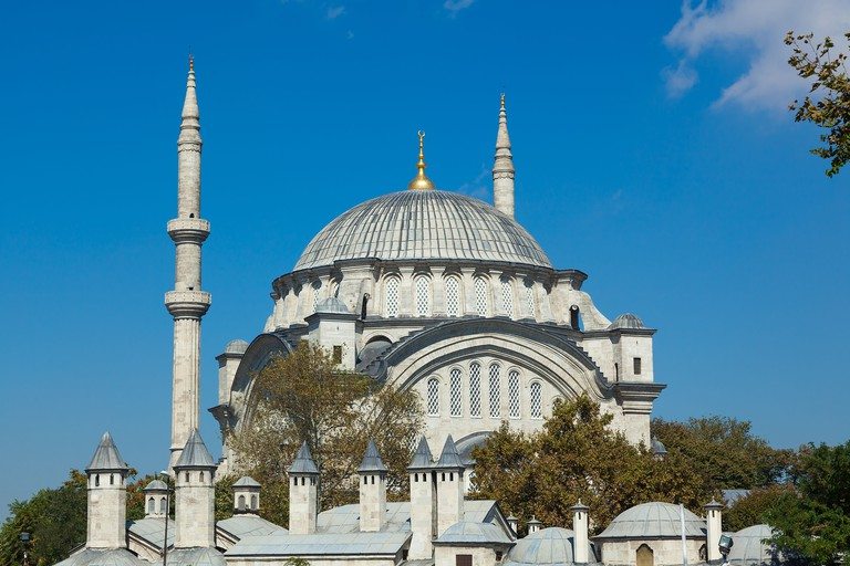 The Mihrimah Sultan Cammii mosque in Istanbul