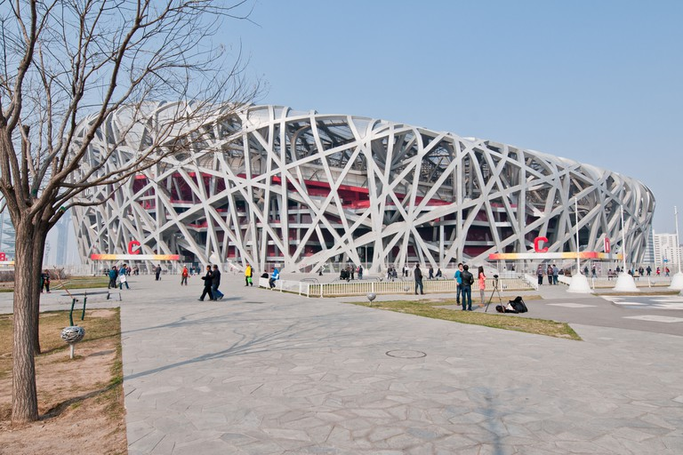 Beijing National Stadium, also known as the Bird's Nest