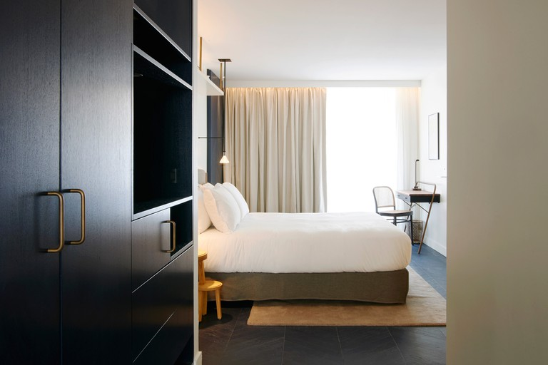 The 24 intricately designed guest rooms boast Treca beds, boutique finishings and full-length mirrors, Amastan Paris, Paris