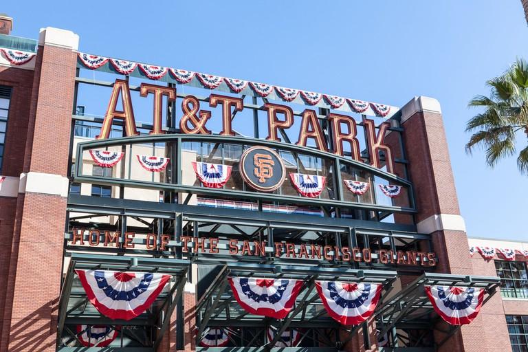 AT&T Ballpark, San Francisco.