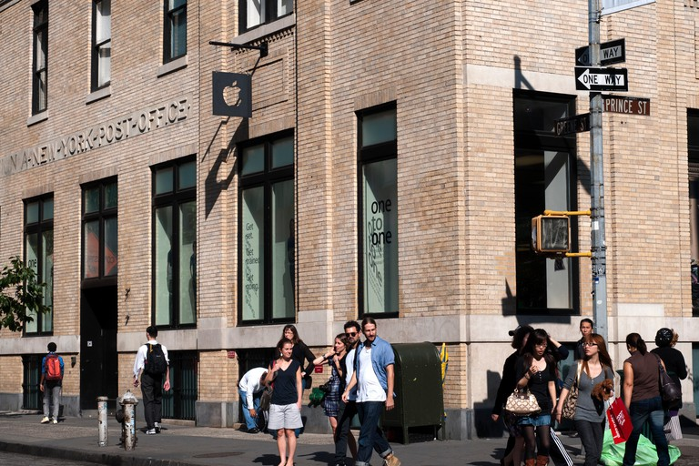 Apple's SoHo store was once a post office