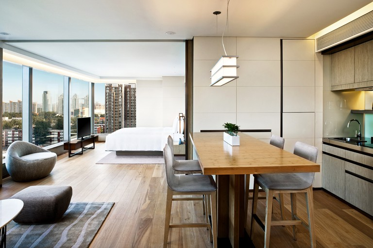 Pay a little more to stay in an East Studio for that little extra slice of luxury and space, EAST Beijing, Beijing