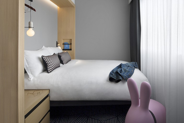 Rooms are basic but perfectly comfortable, Assembly London