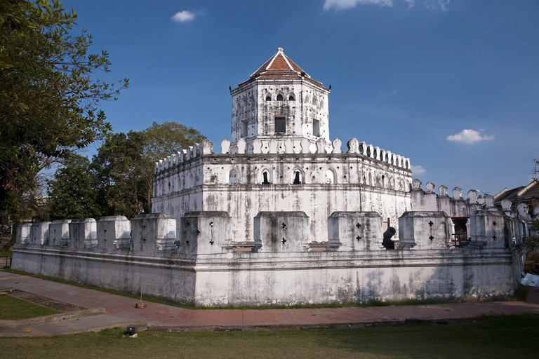 Old Fort Phra Sumeru in Bangkok