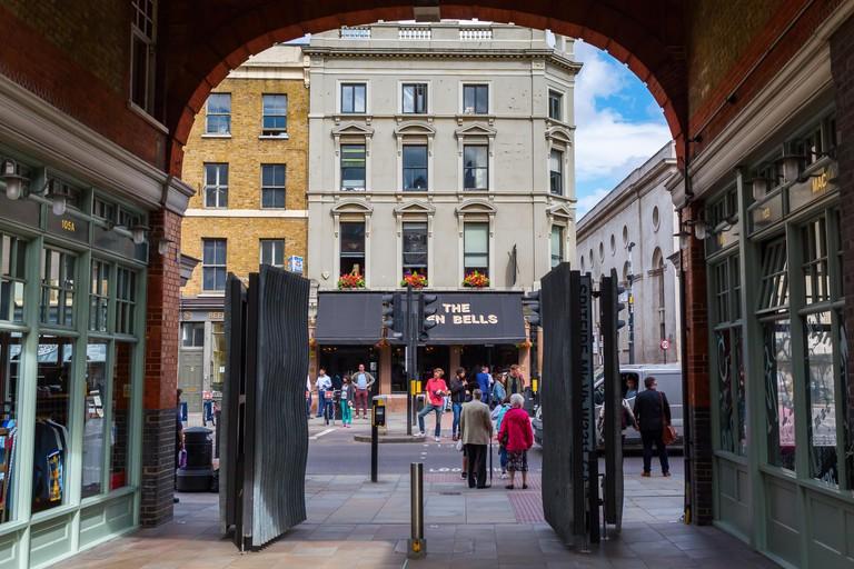 Entrance of Old Spitalfields Market