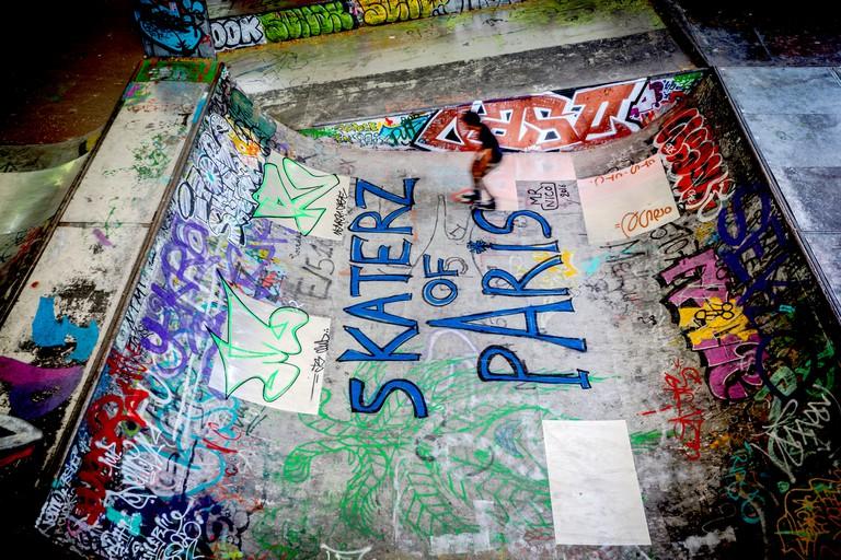 Skatepark de Bercy, Paris, France
