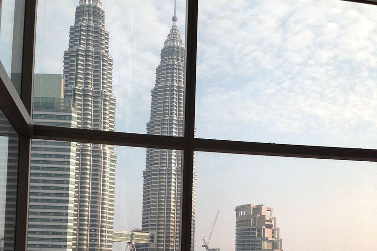 A great view of Petronas Towers while enjoying your meal