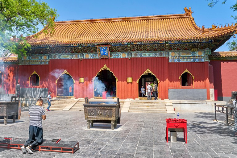 The Lama Temple offers a look at the spiritual side of Beijing
