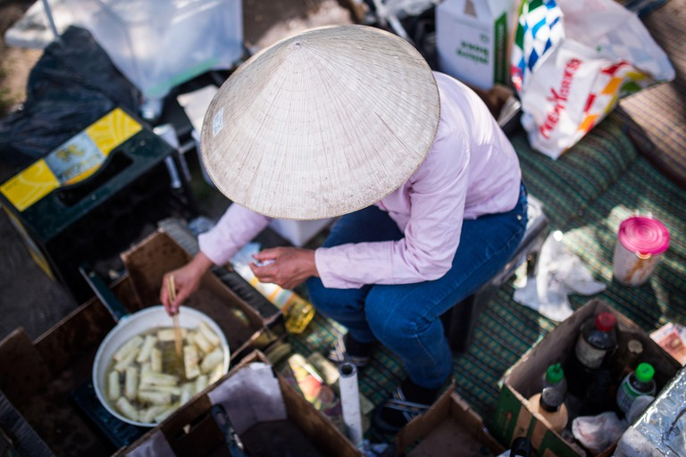 Sunday is the most popular day to visit the Thai Park food market