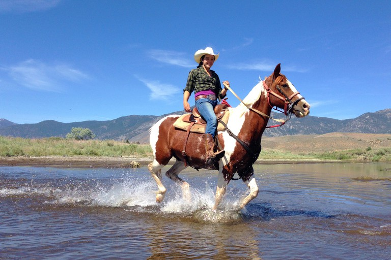 Horseback riding in Reno Tahoe