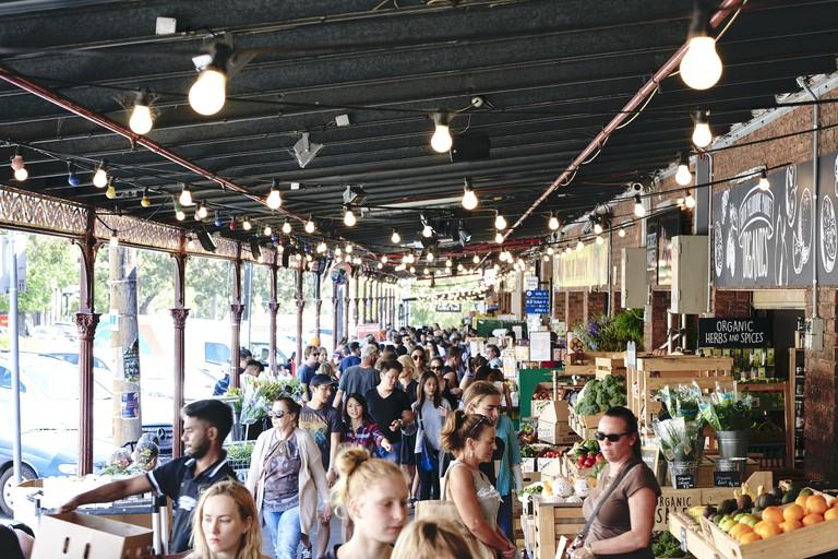 South Melbourne Market on a Sunday © South Melbourne Market