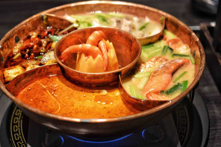The Drunken Pot is perfect for hot pot first-timers