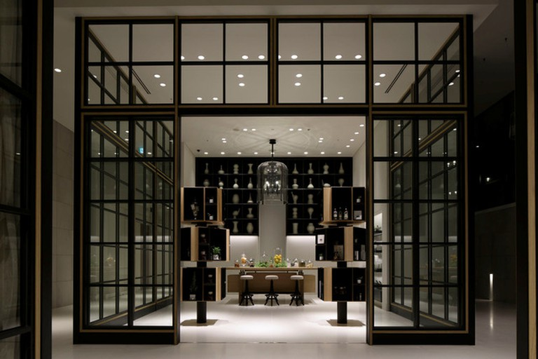 The contemporary design sets the Andaz Tokyo Toranomon Hills apart