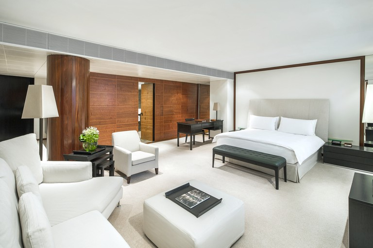 Bedroom at COMO The Halkin, London