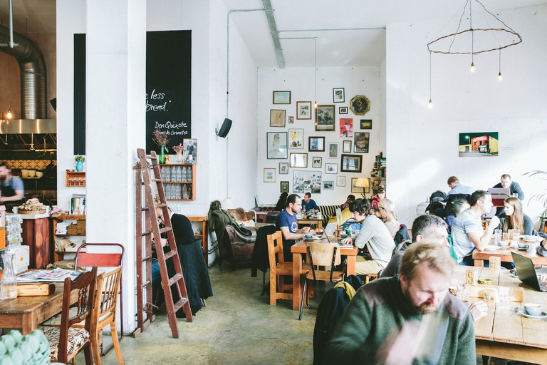 Interior of The Fumbally