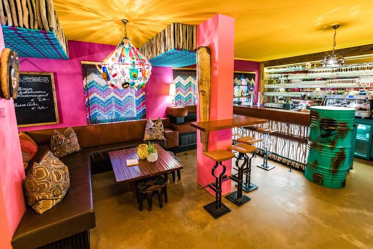 Afro Cafe Salzburg Interior
