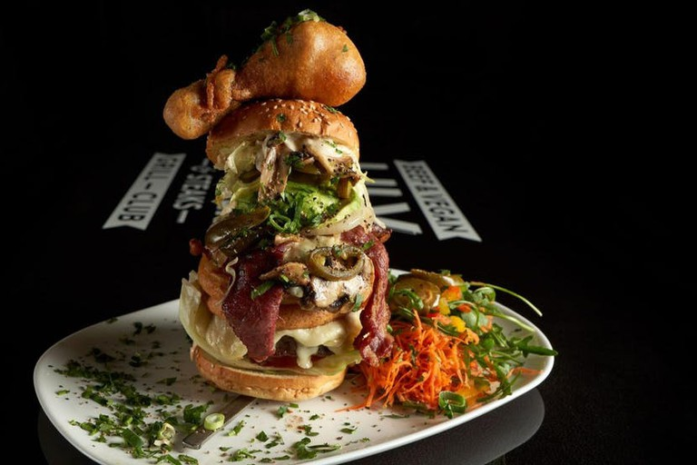 The impressive FBI New York burger