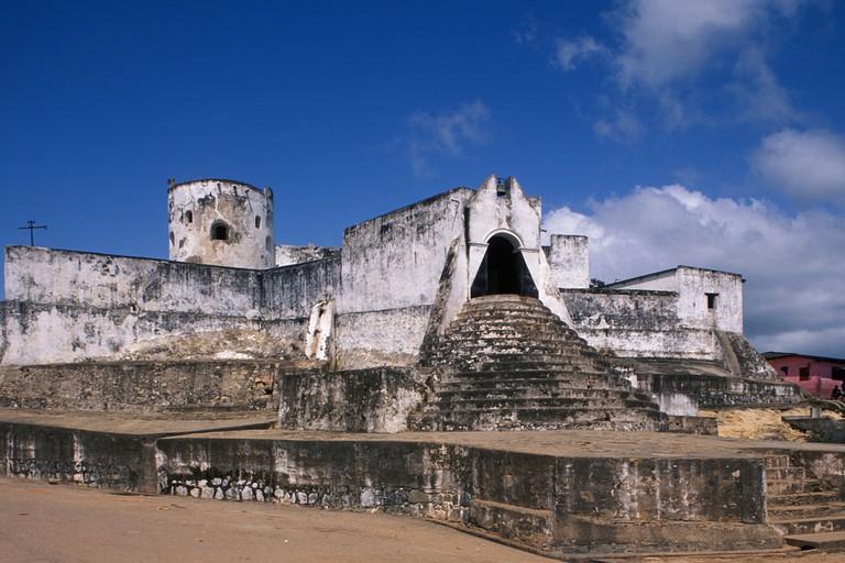 Fort Sebastian old gold and slave trading centre, Shama, Ghana