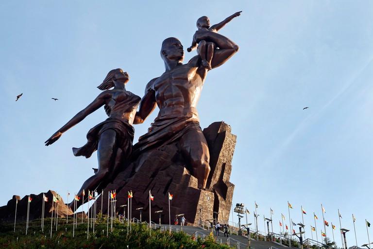 The African Renaissance Monument in Dakar, Senegal