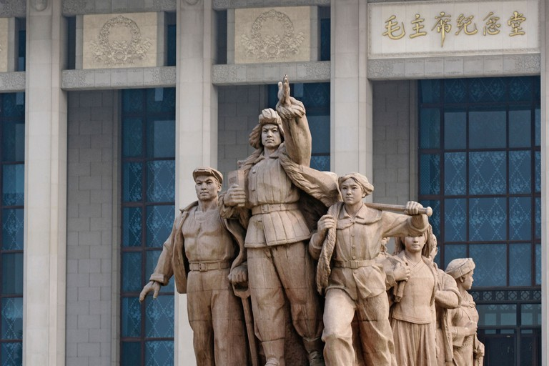 Mao Zedong's Mausoleum is the final resting place of China's former leader