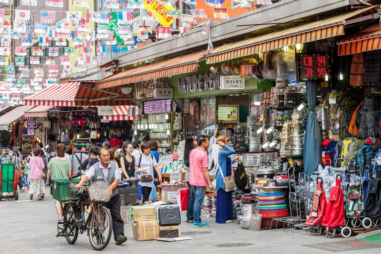 South Korea, Seoul, Jung-gu, Namdaemun Market, the oldest and the largest country market