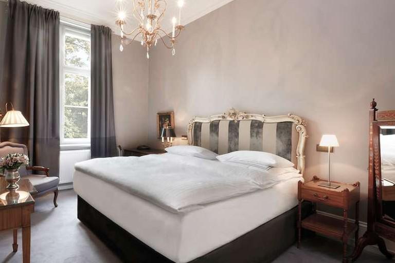 Guest room at Schlosshotel Grunewald