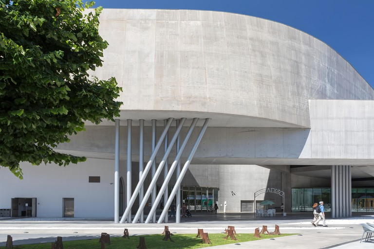 MAXXI Museum art gallery in Rome