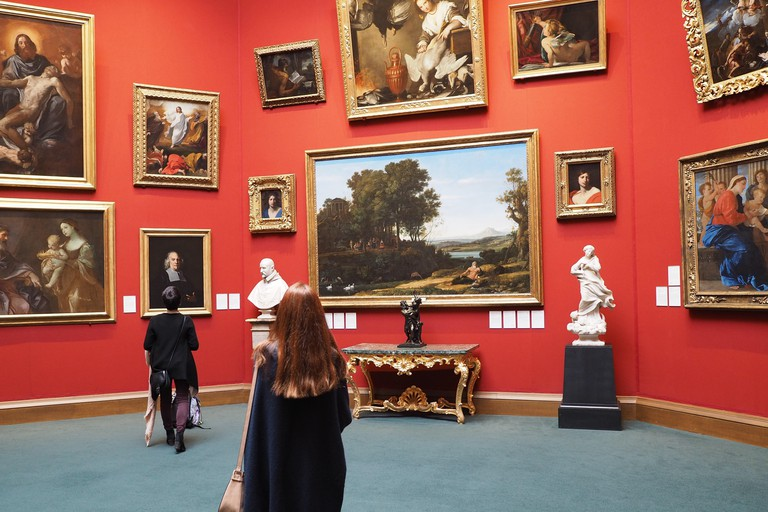 The Scottish National Gallery has an excellent collection, tastefully arranged, and admission is free.
